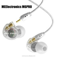 New arrival noise-Isolating Hifi Audiophile In ear Earphone MEElectronics M6 PRO-CL with Detachable Cables Sports Earphone