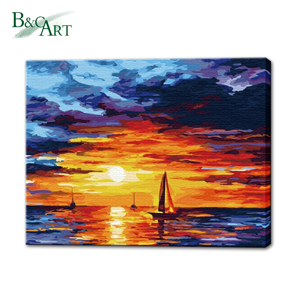 Acrylic Wall Decor Diy Paint Adult Canvas Painting by Number