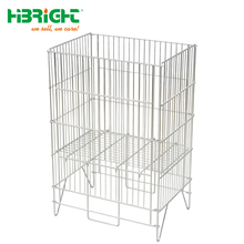 Suzhou Highbright Wire Container/Storage cage/Mesh pallet