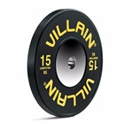 Weight Lifting Training gym Equipment Villain Competition Bumper Plates