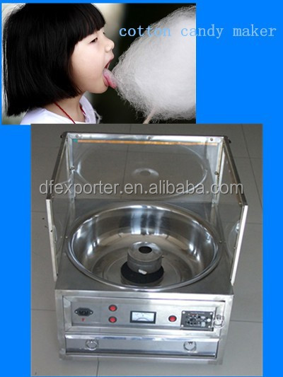 Home mini cotton candy maker/ LED lamp cotton candy making machine