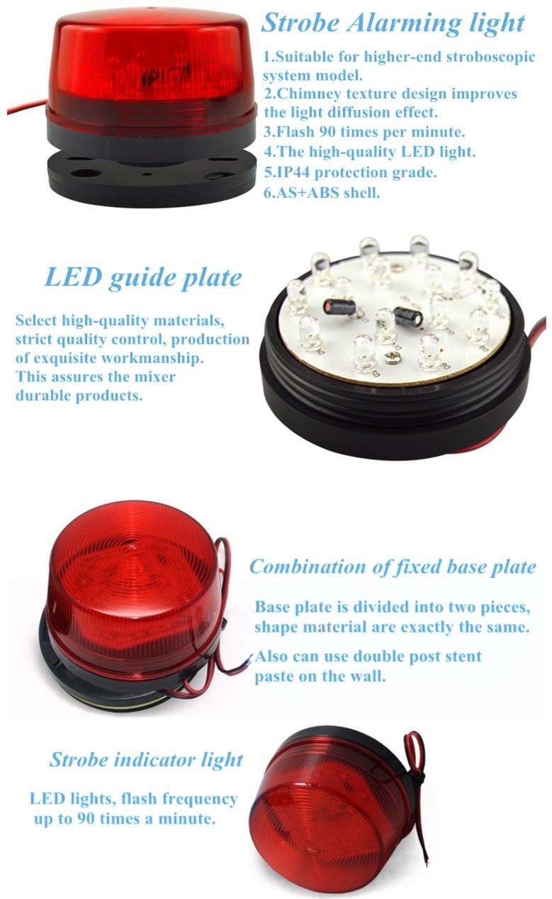 Colors Alarm System Strobe Flashstrobe Lightflashlight Siren Led Light Stroboscope What Features Of Our