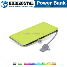 2016 New Products Portable Mobile Power Bank 8000mAh Alibaba China Supplier, Custom Smart Credit Card Power Bank
