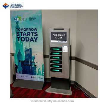 Quick Charge Advertising Mobile Phone Charging Vending ...