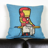 homehold office cartoon superhero gift comics creative polyester& cotton soft sofa cushion