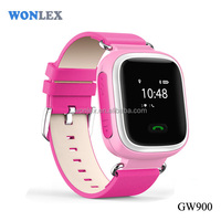 Wonlex High Quality Watch GPS/GPRS/GSM Personal/Vehicle/pet Tracker Kids SOS Emergency Anti Lost