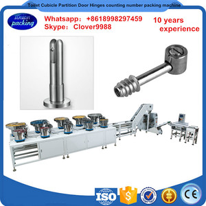 toilet cubicle partition door hinges bag counting number feeder packing machine