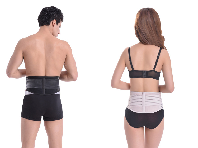 Neoprene Cintura Trimmer Belt de Fitness Super Fino Cintura Lower Back Lombar Suporte Belt Brace Cinto Suor