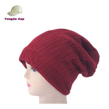 Unisex Man And Women Cheap Long Chic Slouchy Oversized Ribbed Baggy Beanie  Hat - Buy Ribbed Baggy Beanie Hat 509a997f047