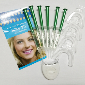 non peroxide 6pcs teeth whitening gel home use teeth bleaching kit,teeth whitening kits private logo