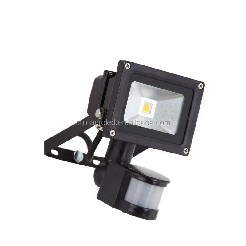 CNPRO Wholesale 10W LED Floodlight With PIR Motion Security Sensor