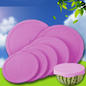Silicone Suction Lids Cover Set For Bowl Cup Pan And Food