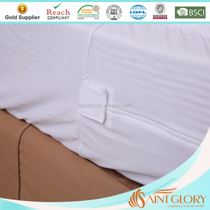 China Supplier Waterproof Hospital Zipped Mattress Protector