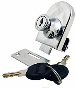 FJM Security MEI-0240-KA Single Glass Door Lock