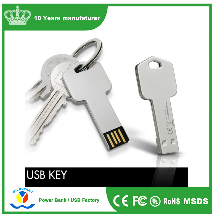 Wonderful Gifts Key Shaped USB Flash Drives with Logo printed/engrave with Cheap Price Keyring