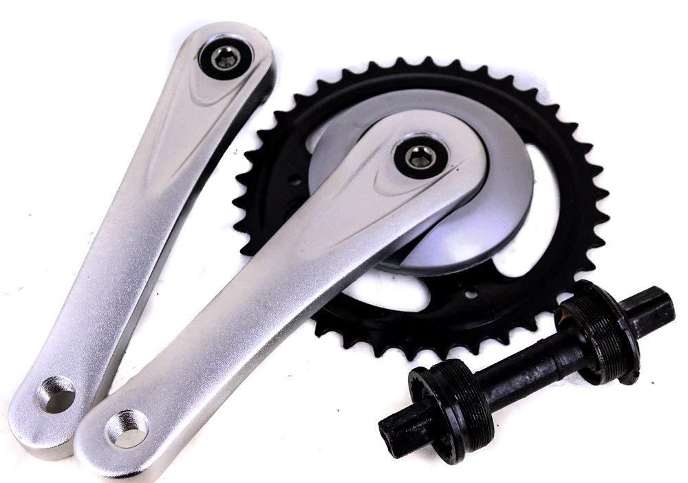 Prowheel Square Taper Single Speed Cruiser Bike Crankset 170mm 38T NEW