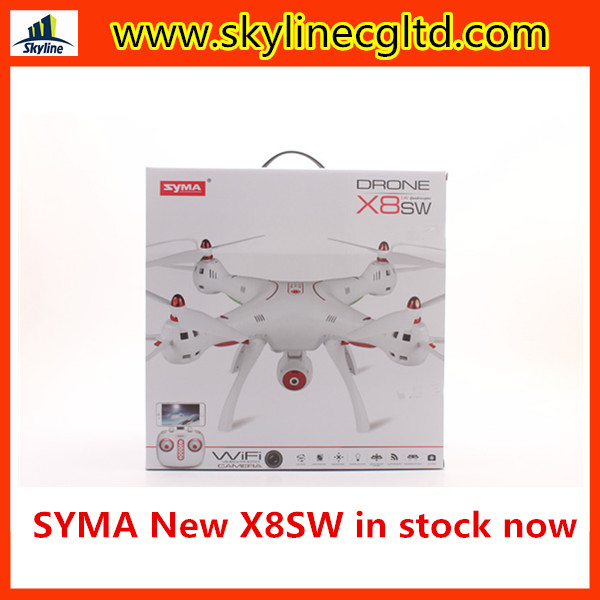 In stock Syma X8SW New Version Syma X5SC-1 4CH 2.4GHz 6 Axis RC Quadcopter with HD Camera 360 Degree Eversion hot sale