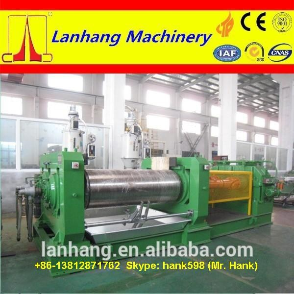 Open Type Two Roll Mill / 2 Roll Mill /Breaker Mill China plant