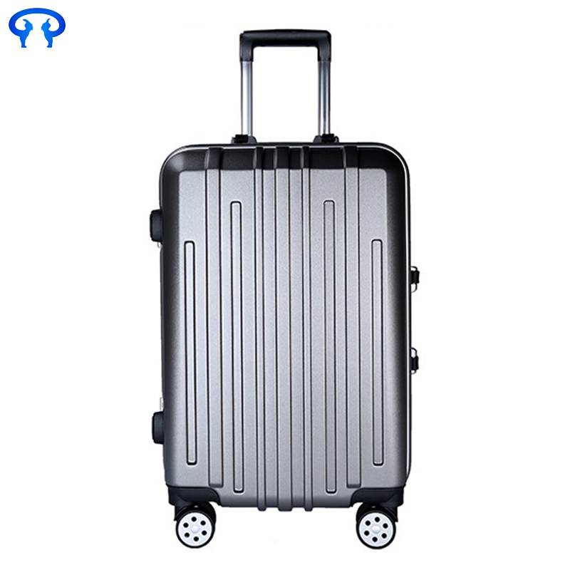 pc business trolley luggage for men and women hard shell suitcase