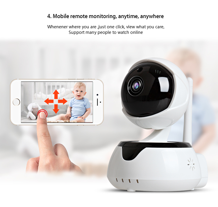 LOOSAFE HD 720P Wireless Security P2P IP Camera CCTV Camera
