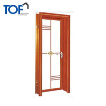 High Quality Low Cost Bathroom Door Interior Aluminium Glass Door Design