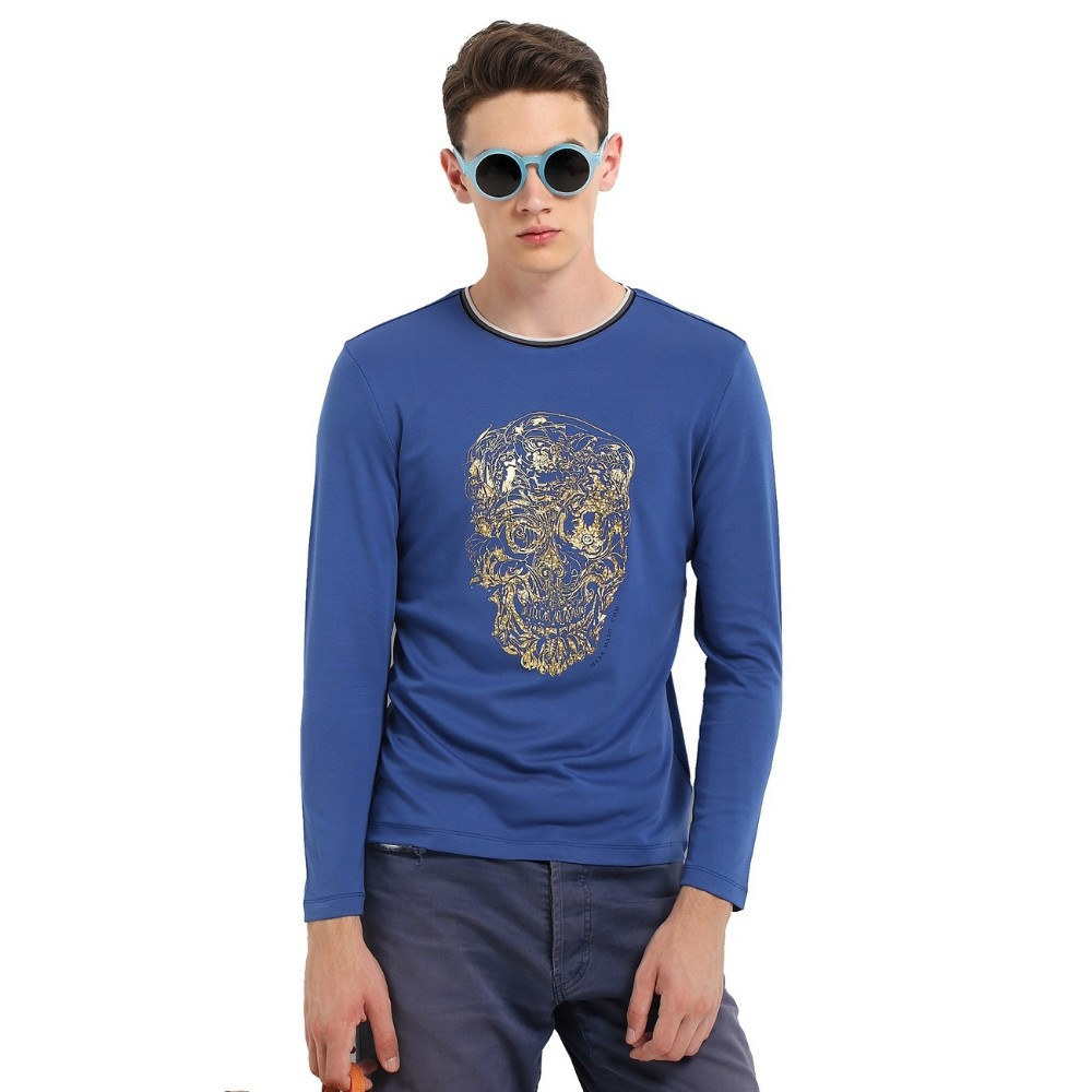 men long sleeves collar t-shirt in nanchang