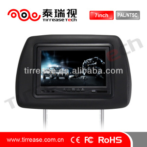 7 inch car lcd headrest monitor
