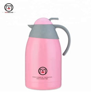 New design eco friendly double wall stainless steel thermos tea pot vacuum flask