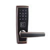 Miwa nepal fingerprint cylinder hotel door lock with key and card