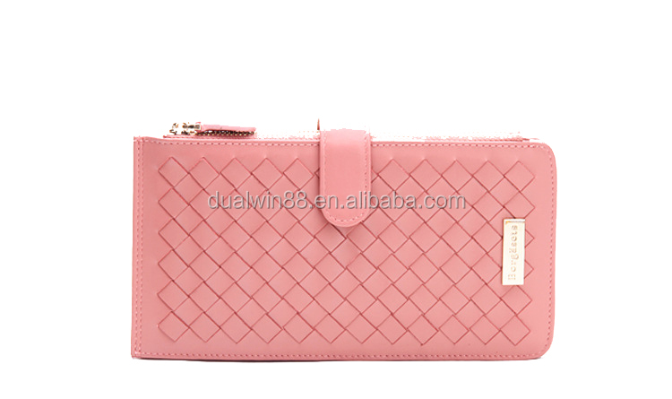 Hot design woven mobile wallets mobile bags mobile card bags