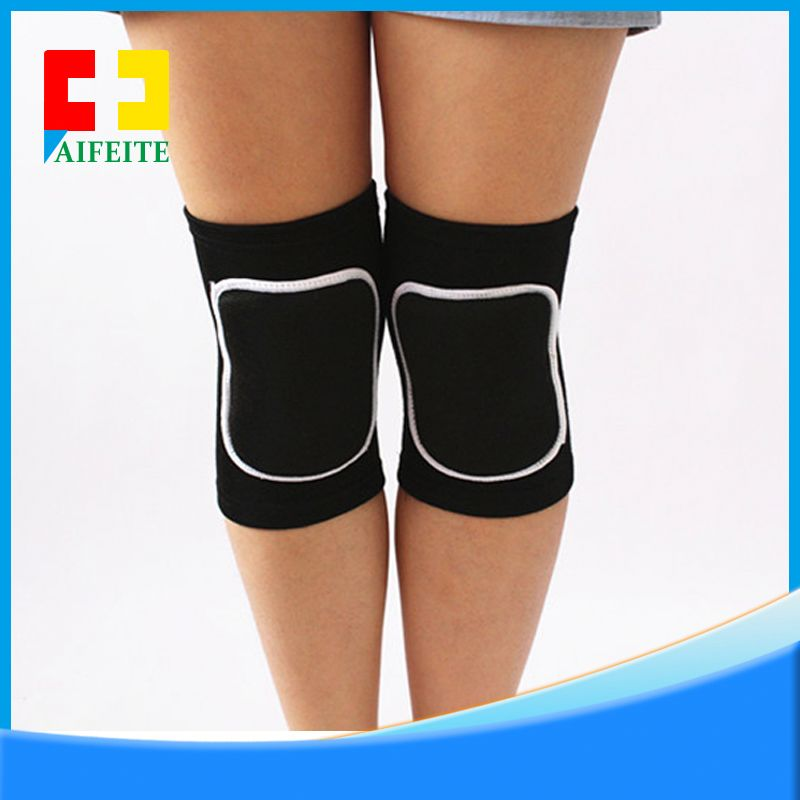 2017 Sport basketball guards anti-collision extended knee pads To protect,colourful keen support