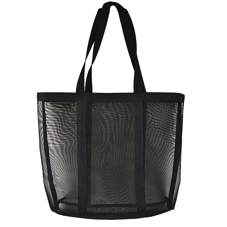 Beach Tote Bag Lightweight Heavy-Duty Mesh Tote Bag with Handles