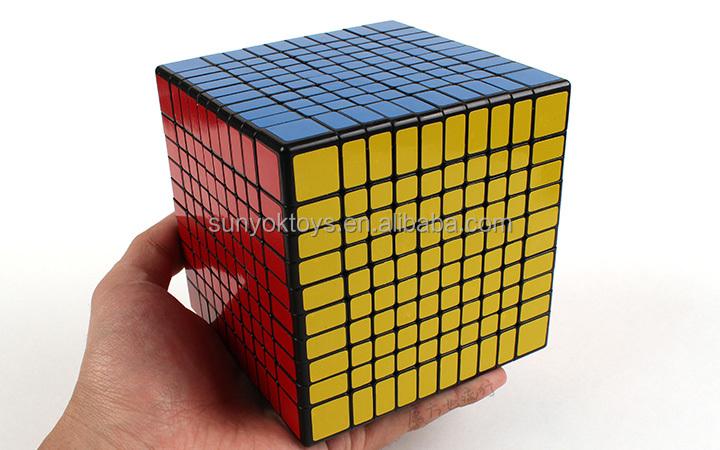 Shengshou 10x10x10 Speed Puzzle Cube Large Plastic Cube
