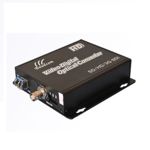 analog SDI BNC fiber video digital to analog converter