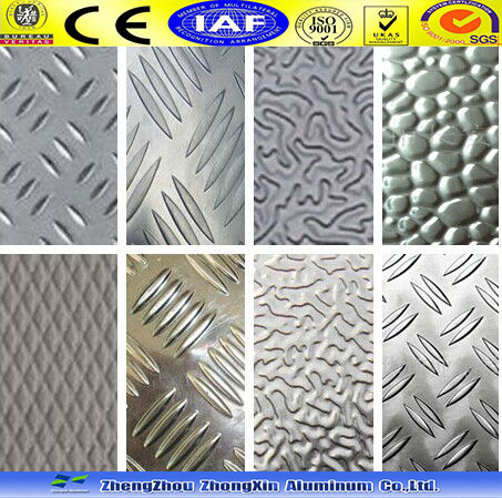 5 Bar Embossed Aluminum Sheet/aluminum Checked/chequered Plate ...
