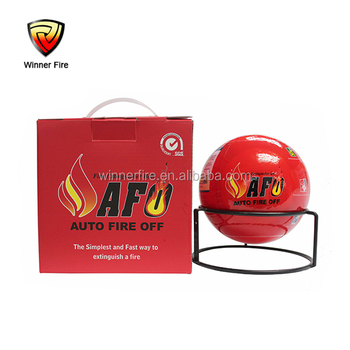 CE,Rohs SGS certificated easy handle 1.3kg Auto fire fighting ball for home and car use