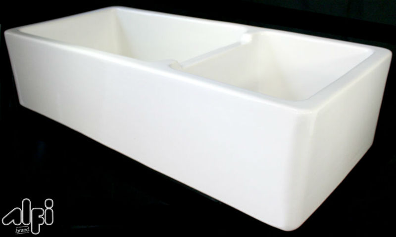 Alfi Brand Ab4019 Xl Double Bowl Fireclay A Front Farm Kitchen Sink Product On Alibaba