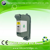 large volume ink cartridge for hp 15
