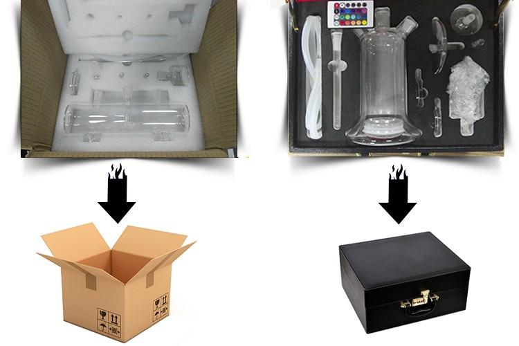 Mp5 Glass Hookah Shisha With Adapter Usa Glass Shisha