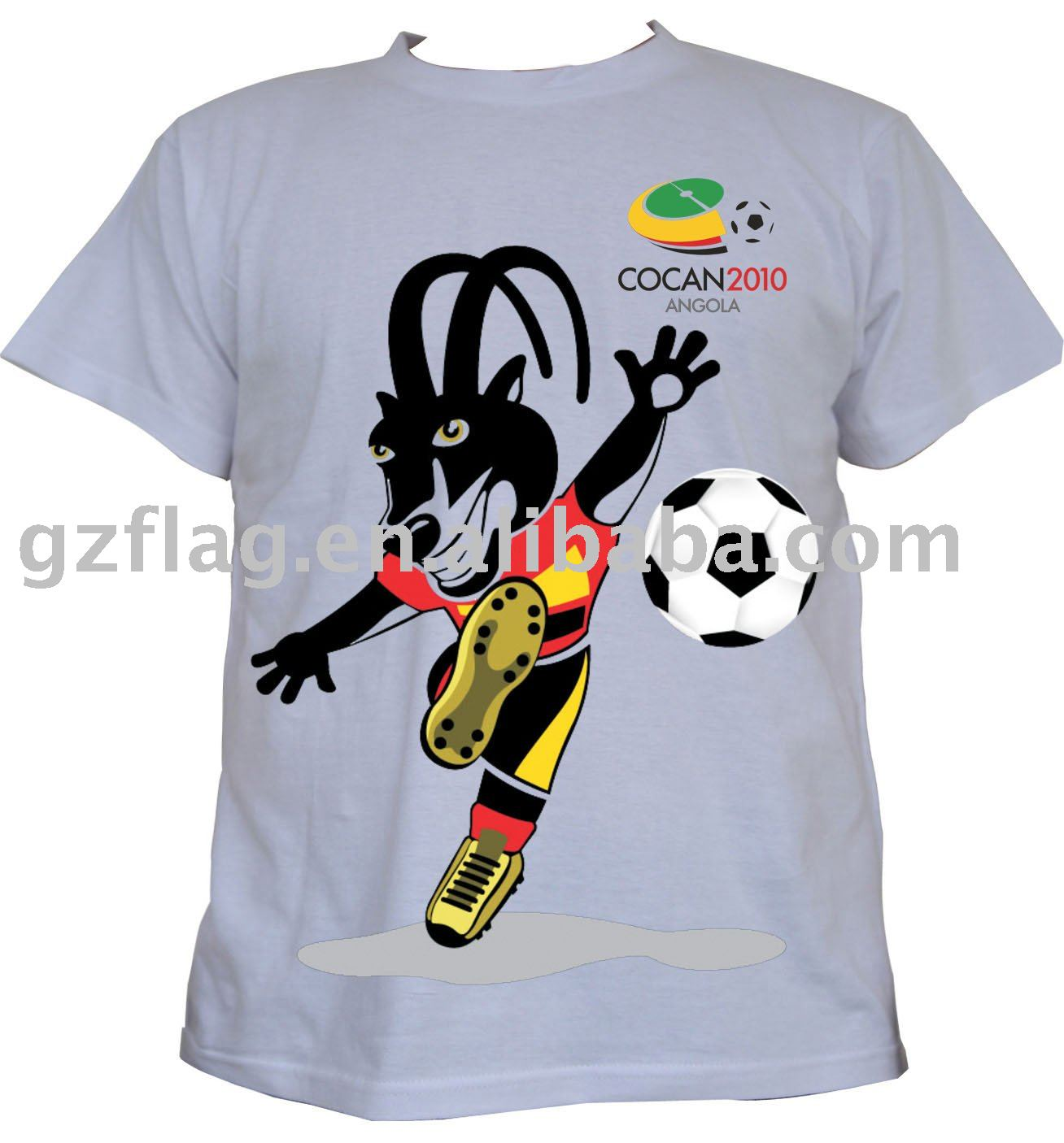 Cheapest Promotion Election Cotton and Polyester Printing T-shirt