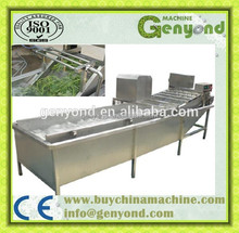 High speed ozone fruit and vegetable washer