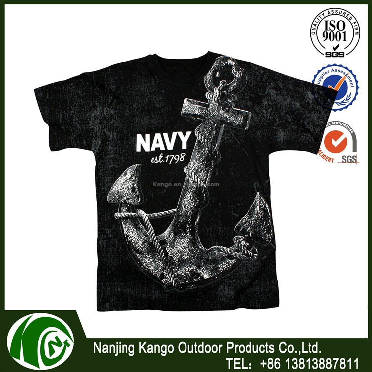 28e08ecad American Reaper T-Shirt - Grunt Style Military Men's Black Graphic Tee Shirt