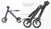 Mini folding electric bike with 12 inch Taiwan Cheng Shie tyres