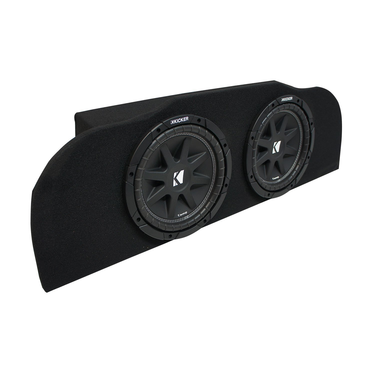 "2003-2015 Infiniti G35 Coupe Kicker Comp C10 Subwoofer Dual 10"" Sub Box Enclosure - Final 2 Ohm"