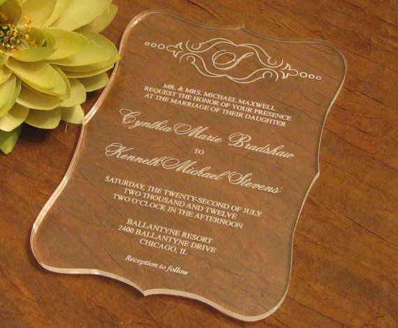 Favorites Compare top grade luxury wedding card invitation,acrylic glass card