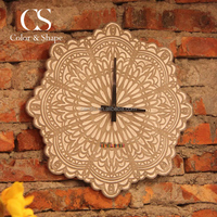 Modern home cheap unique concrete wall clock from China manufacturer