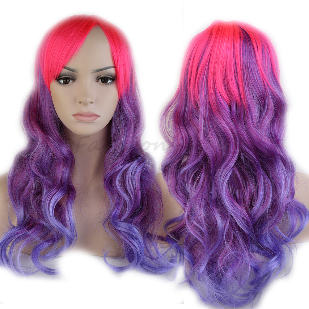 Popular Pink Blue Wig-Buy Cheap Pink Blue Wig lots from