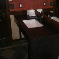 single bowl vanity tops for bathroom and high class hotel use