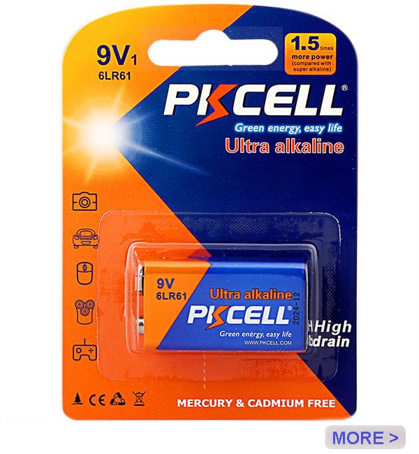 PKCELL AAA 1.5V Batteries LR03 E92 AM4 Alkaline Dry Battery