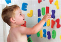 Kids New Baby Bath Toy 36pcs Soft Foam Letters Numbers Bath Toys Classic Educational 36pcs set